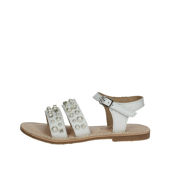 Laura Biagiotti Dolls Shoes Sandals White 3641