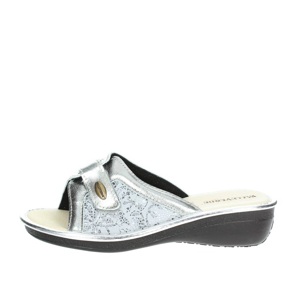 Valleverde Shoes Clogs Silver 37205