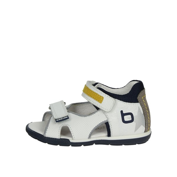 Balducci Shoes Sandal White/Yellow CITA01083