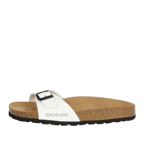Grunland Shoes Clogs White CB0029-70