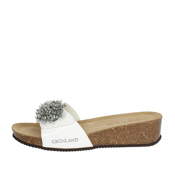 Grunland Shoes Clogs White CB1607-70