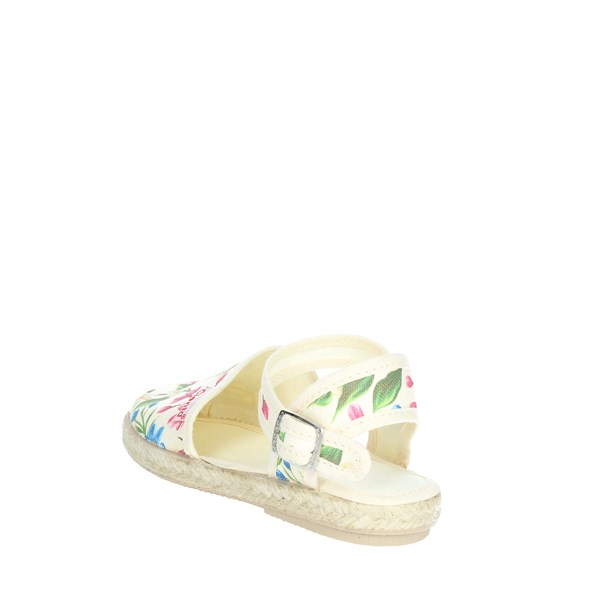 Cienta Shoes Espadrilles Flowered 40023