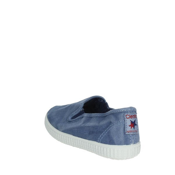 Cienta Shoes Moccasin Light Blue 57777