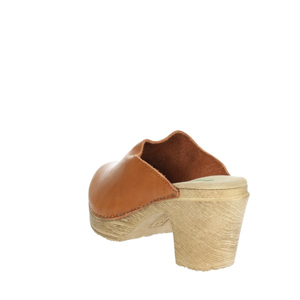 <Bionatura Shoes Sandals Brown leather 64C2016