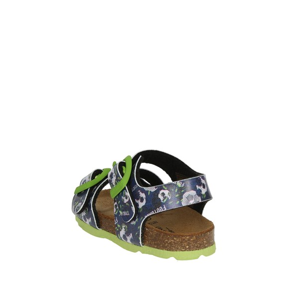 Grunland Shoes Sandal Blue/Green SB0246-40