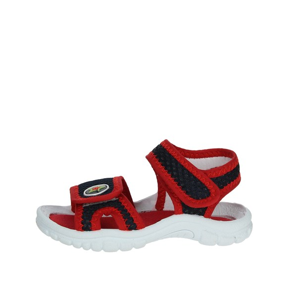 Grunland Shoes Sandal Blue/Red PS0051-48