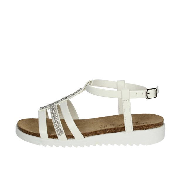 Grunland Shoes Sandal White SB0287-70