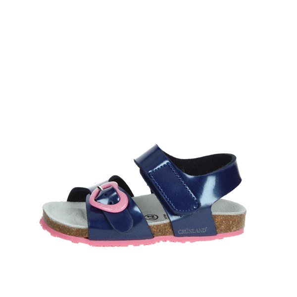 Grunland Shoes Sandal Blue SB0233-40