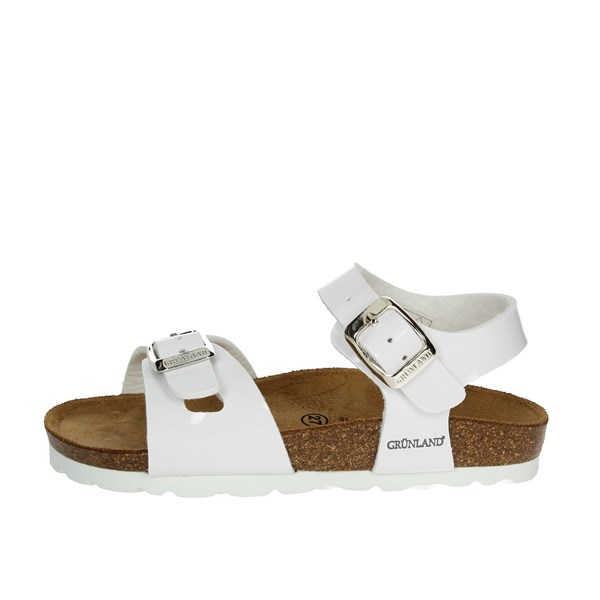 Grunland Shoes Sandal White SB0018-40