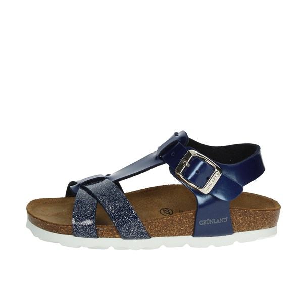 Grunland Shoes Sandal Blue SB0238-40