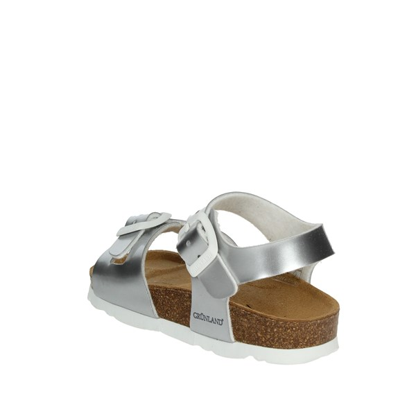 Grunland Shoes Sandals Silver SB0018-40