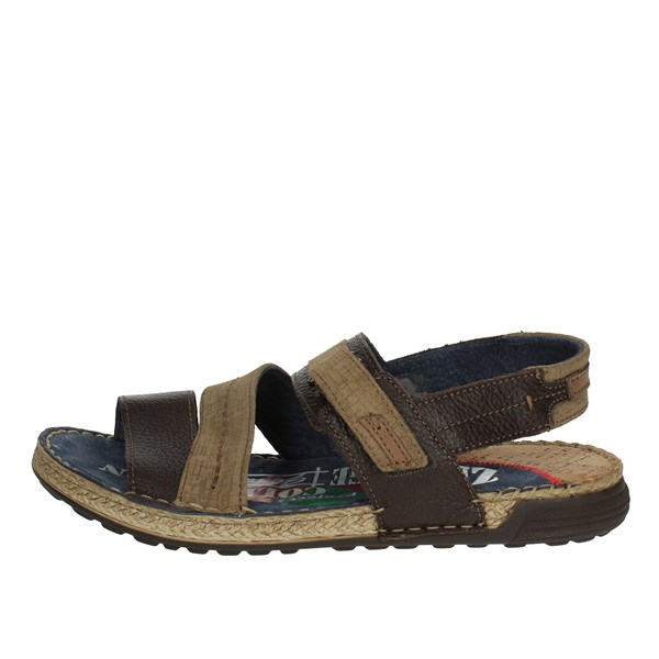 Zen Shoes Sandals Brown 677217