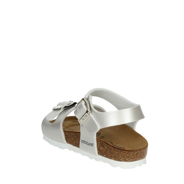 Grunland Shoes Sandals Silver SB0646-40