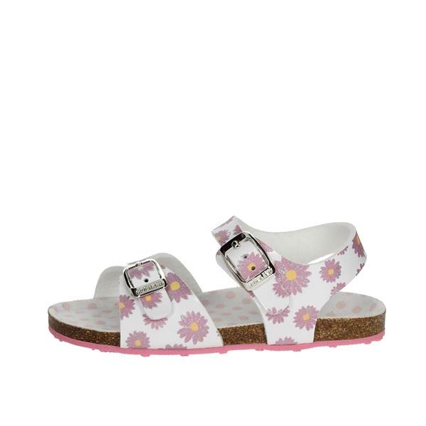 Grunland Shoes Sandal White/Fuchsia SB0247-40