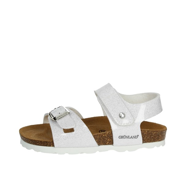 Grunland Shoes Sandal White/Silver SB0229-40