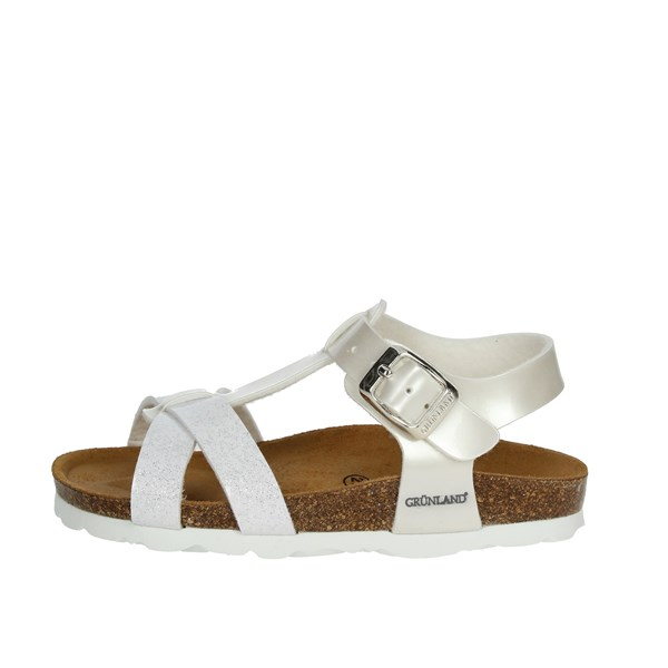 Grunland Shoes Sandal White SB0238-40