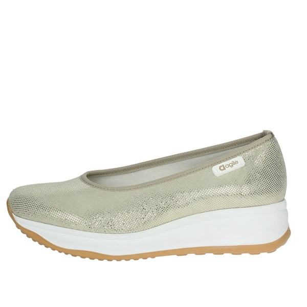 Agile By Rucoline  Shoes Ballet Flats Platinum  136(40-A)