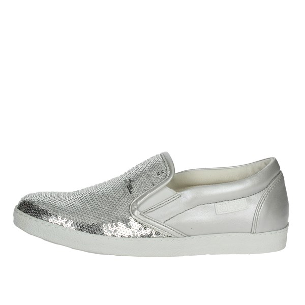 Agile By Rucoline  Shoes Slip-on Shoes Silver 2813(55-A)