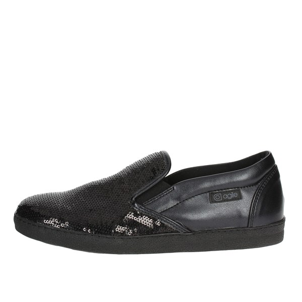 Agile By Rucoline  Shoes Slip-on Shoes Black 2813(65-A)