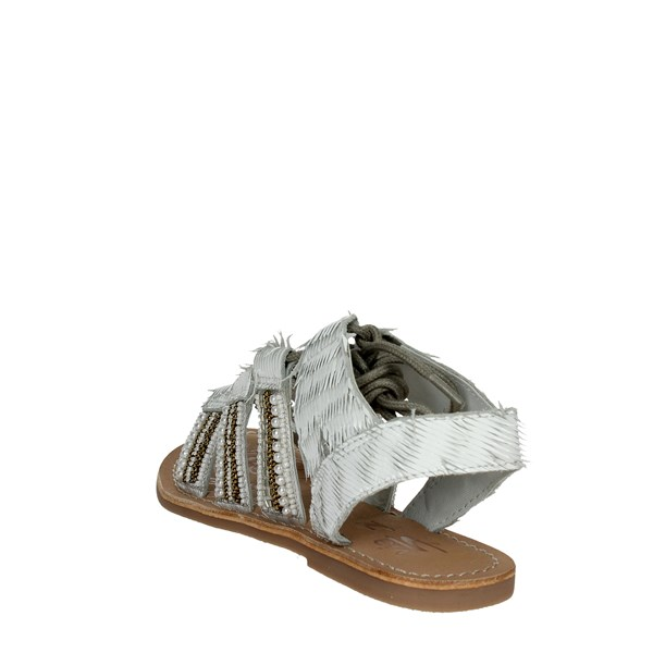 Via 51 Shoes Sandals White JOY 1