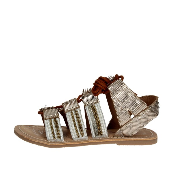 Via 51 Shoes Sandals Gold JOY 1