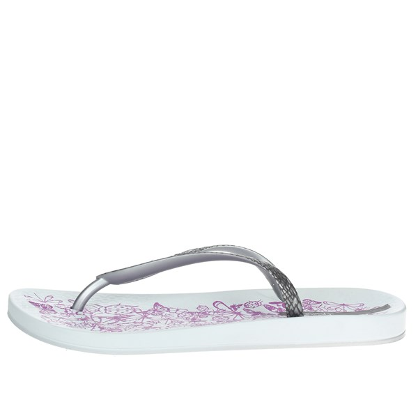 Ipanema Shoes Flip Flops Silver 81926 20932