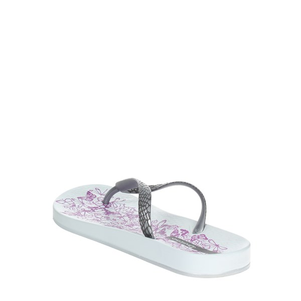<Ipanema Shoes Flip Flops Silver 81926 20932