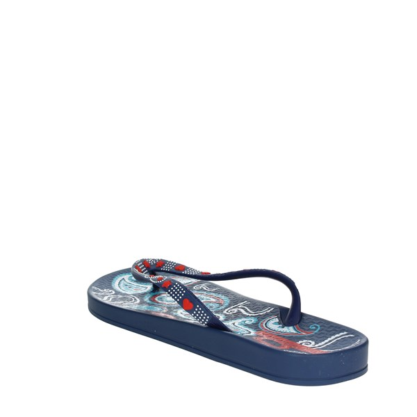 <Ipanema Shoes Flip Flops Blue/Red 81922 20561