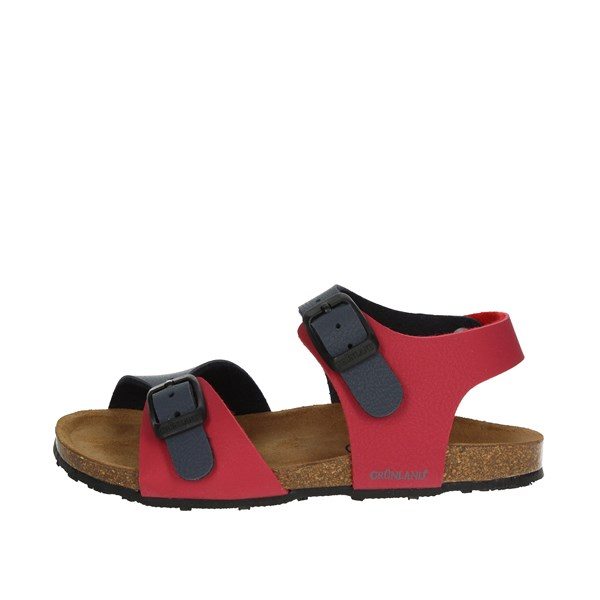 Grunland Shoes Sandal Red/blue SB0413-40