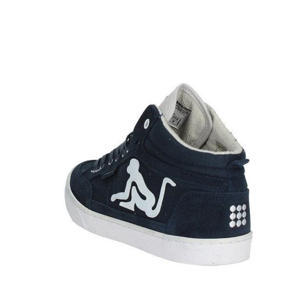 <Drunknmunky Shoes Sneakers Blue BOSTON CLASSIC 002