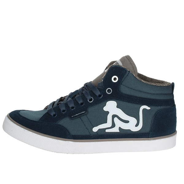 Drunknmunky Shoes Sneakers Light Blue BOSTON CLASSIC 008