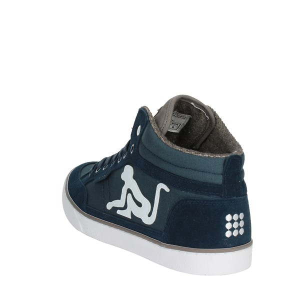 <Drunknmunky Shoes Sneakers Light Blue BOSTON CLASSIC 008