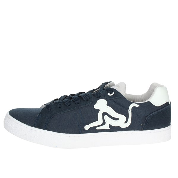 Drunknmunky Shoes Sneakers Blue NEW ENGLAND CLASSIC