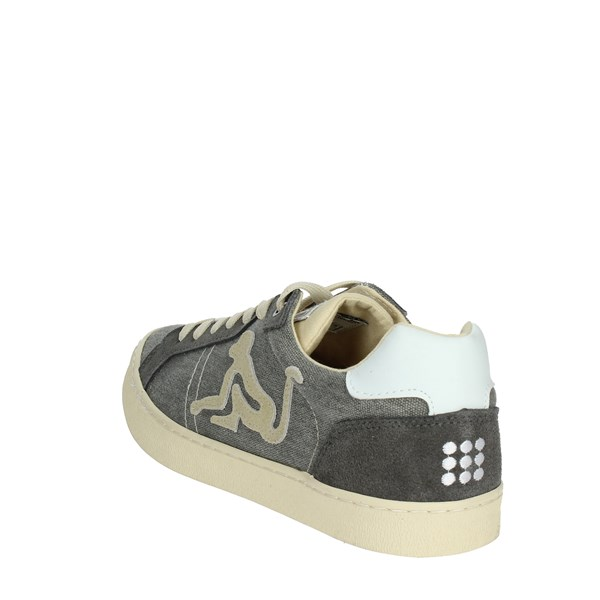 <Drunknmunky Shoes Sneakers Grey NEW ENGLAND VINTAGE