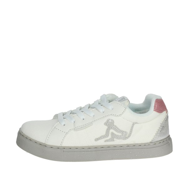 Drunknmunky Scarpe Bambina Sneakers BIANCO NASHVILLE FLASH K61