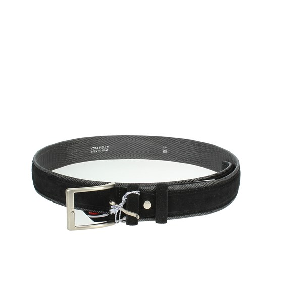 Francesco Muto Accessories Belt Black 828-E