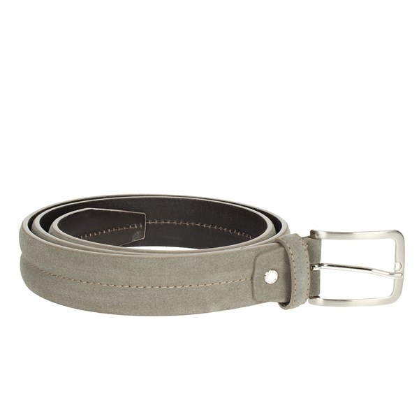 Francesco Muto Accessories Belt Brown Taupe 120-G
