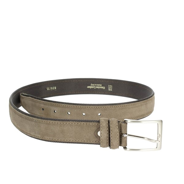 Francesco Muto Accessories Belts Brown Taupe 828-H