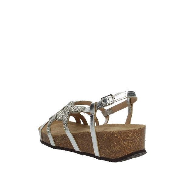 <Grunland Shoes Sandals Silver SB0320-70