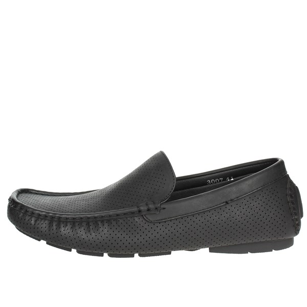 Laura Biagiotti Shoes Moccasin Black 3007