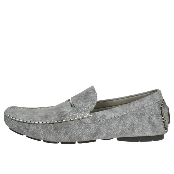 Laura Biagiotti Shoes Moccasin Grey 3006