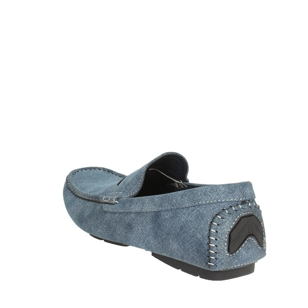 Laura Biagiotti Shoes Moccasin Blue 3006
