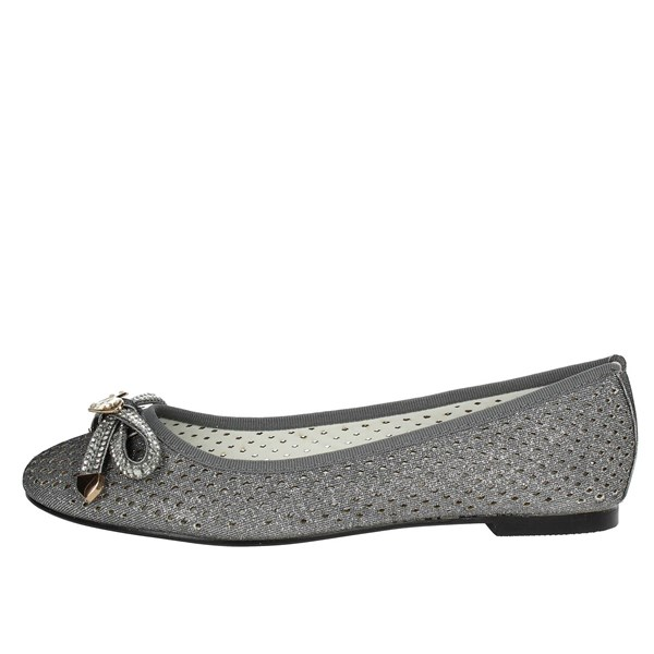 Laura Biagiotti Shoes Ballet Flats Silver 709