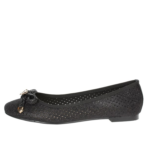 Laura Biagiotti Shoes Ballet Flats Black 709
