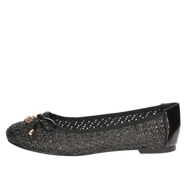 Laura Biagiotti Shoes Ballet Flats Black 711