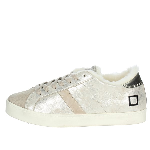 D.a.t.e. Scarpe Donna Sneakers PLATINO HILL LOW-16I