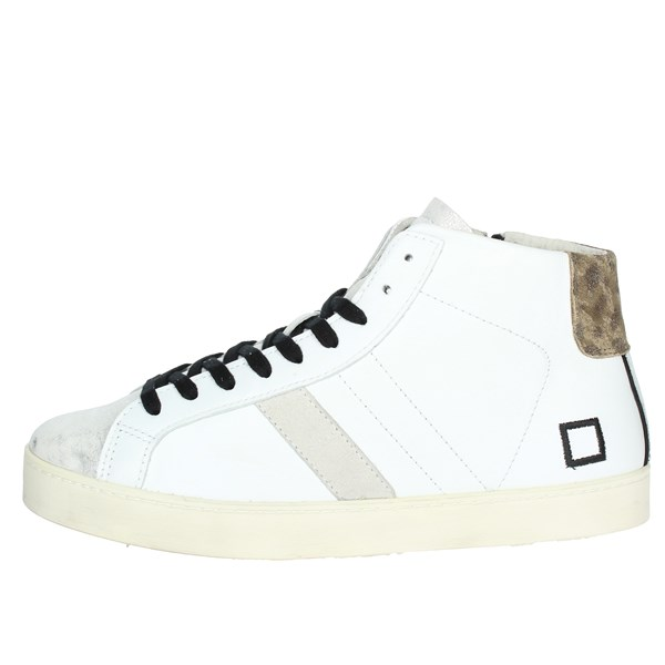 D.a.t.e. Scarpe Donna Sneakers BIANCO HILL HIGH-8I