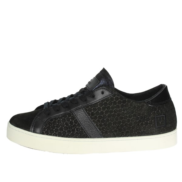 D.a.t.e. Scarpe Donna Sneakers NERO HILL LOW-50I