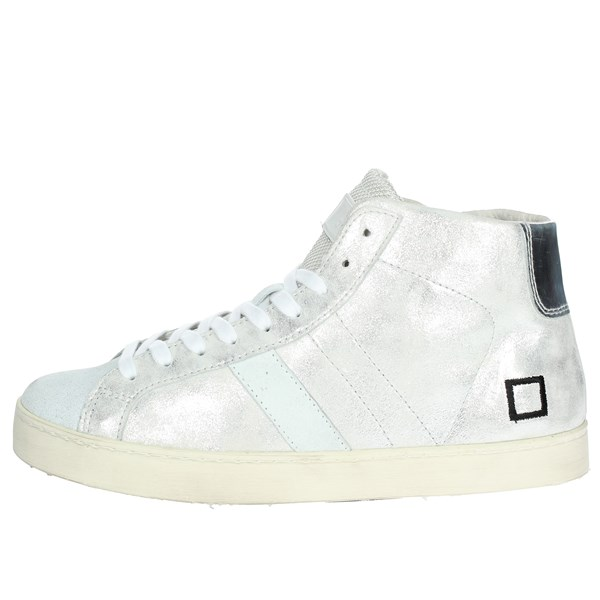 D.a.t.e. Scarpe Donna Sneakers ARGENTO HILL LOW-58I