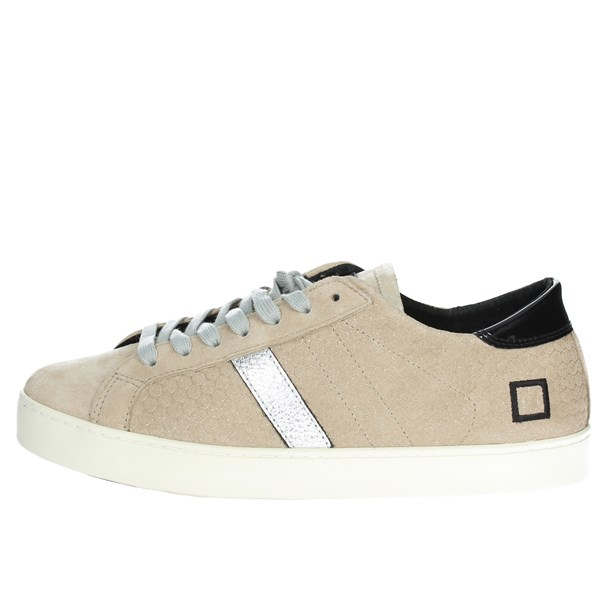 D.a.t.e. Scarpe Donna Sneakers BEIGE HILL LOW-60I